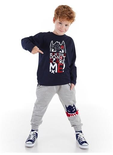 Denokids Don't Scare Erkek Çocuk Pantolon Takım Renkli